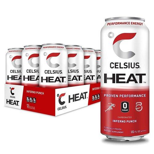 Celsius Celsius Heat Energy Drink