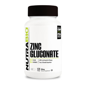 Nutrabio Zinc Gluconate