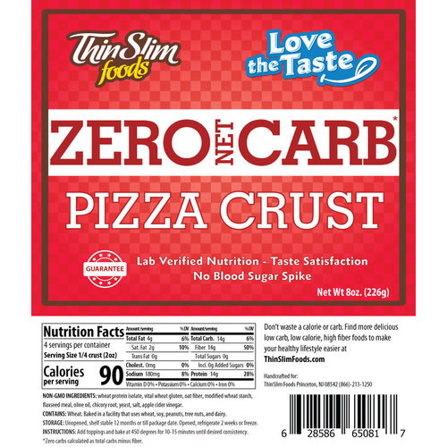 Thin Slim Foods Love-The-Taste Pizza Crust