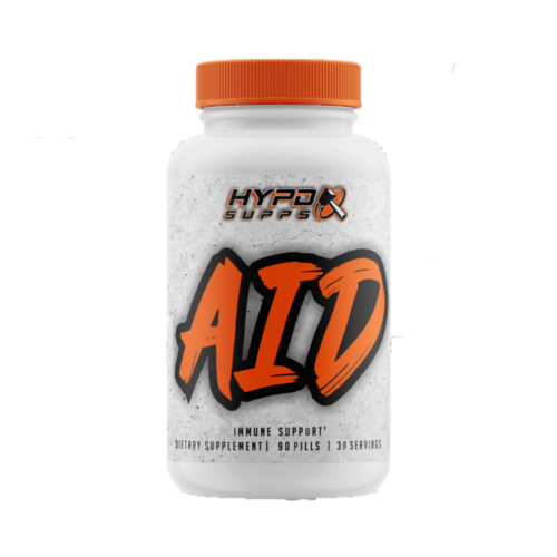 HYPD SUPPS AID Immune Support 90ct