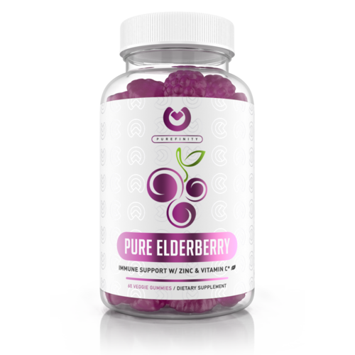 Purefinity Elderberry Gummies - 150mg