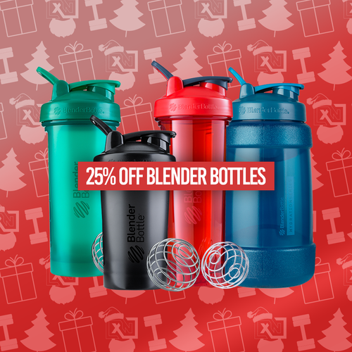 25% Off Blender Bottles