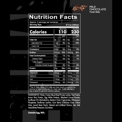 RedCon MRE Protein RTD