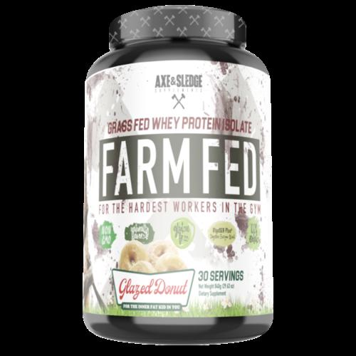 Axe & Sledge FARM FED PROTEIN // Grass-Fed Whey Protein Isolate