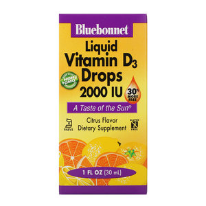 Blue Bonnet Liquid Vitamin D3 Drops