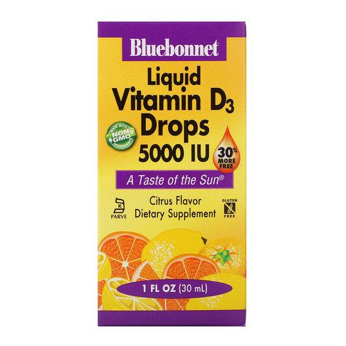 Blue Bonnet Liquid Vitamin D3 Drops