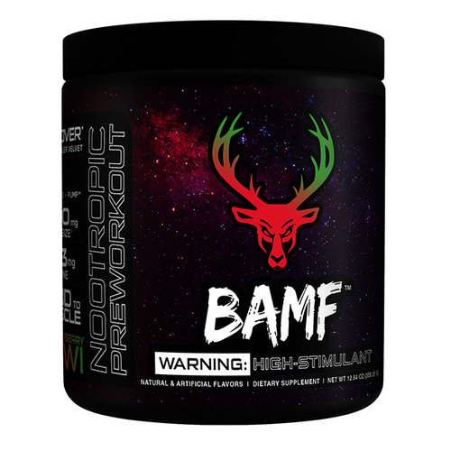 Bucked Up BAMF  High Stimulant Nootropic Pre-Workout