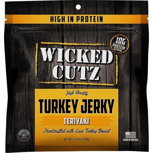 Wicked Cutz Wicked Cutz Turkey Jerky 2.75oz