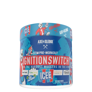 Axe & Sledge IGNITION SWITCH // PRE-STIM - ICEE® BLUE RASPBERRY