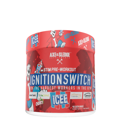 Axe & Sledge IGNITION SWITCH // PRE-STIM - ICEE® CHERRY