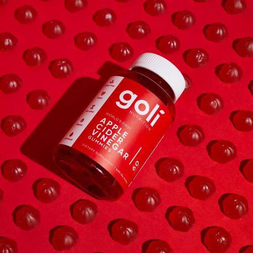 goli nutrition Goli Apple Cider Vinegar Gummies - 60 serving