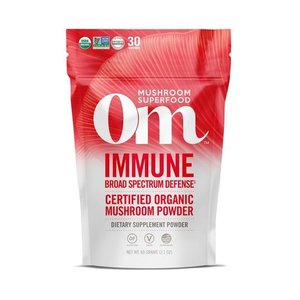 Om Mushroom Superfood Immune Blend Organic Mushroom Superfood Powder