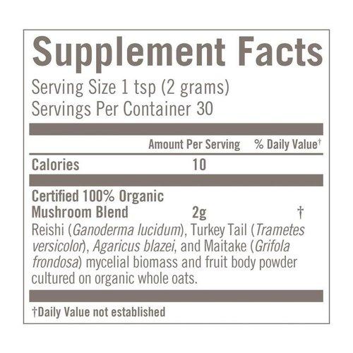 Om Mushroom Superfood Immune Blend Organic Mushroom Superfood Powder