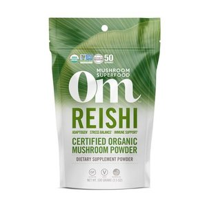 Om Mushroom Superfood Reishi Organic Mushroom Superfood Powder