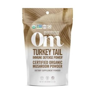 Om Mushroom Superfood Turkey Tail Organic Mushroom Superfood Powder