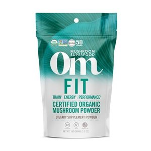 Om Mushroom Superfood Fit Blend Organic Mushroom Superfood Powder
