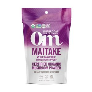 Om Mushroom Superfood Maitake Organic Mushroom Superfood Powder