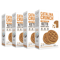 Catalina Crunch Snacks Keto Sandwich Cookies