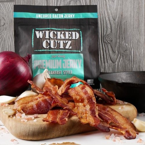 Wicked Cutz Wicked Cutz Bacon Jerky 2oz