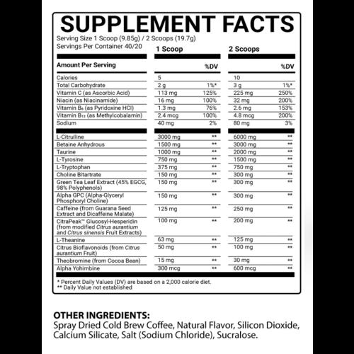 Bowmar Nutrition Bowmar Pre / Stim