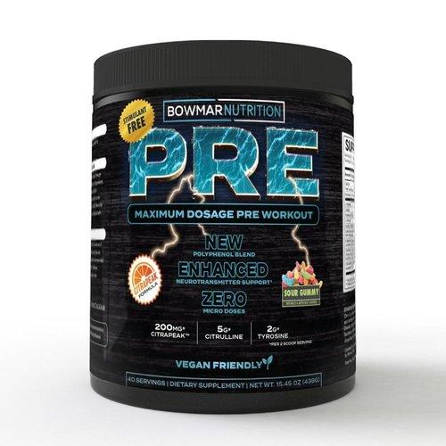 Bowmar Nutrition Bowmar Pre /  Non Stim