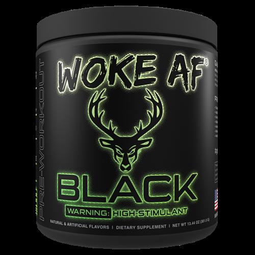 Bucked Up Bucked Up®  Woke AF™ Black High-Stim Pre-Workout - 30 Servings