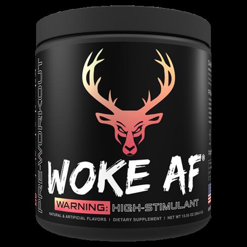 Bucked Up Woke AF™ High-Stimulant Pre-Workout - 30 Servings
