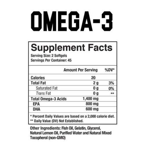 Axe & Sledge Omega-3 // Basics Series