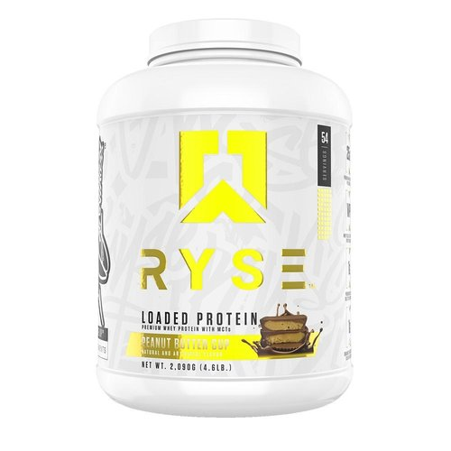 Ryse Supplements 4lb Ryse Loaded Whey Protein With MCTs