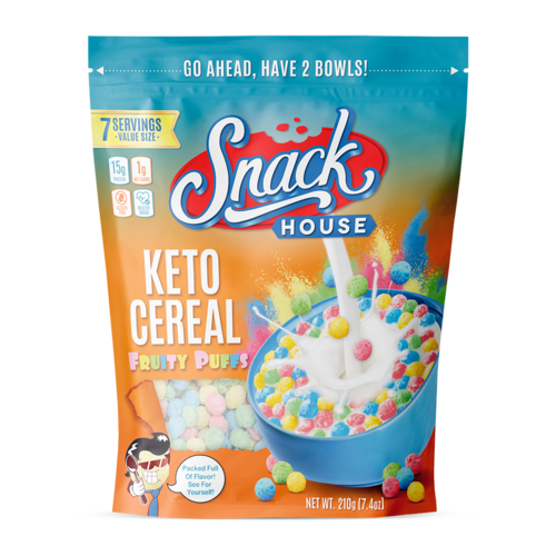 Snack House Foods Snack House Puffs Keto Cereal 7 serving
