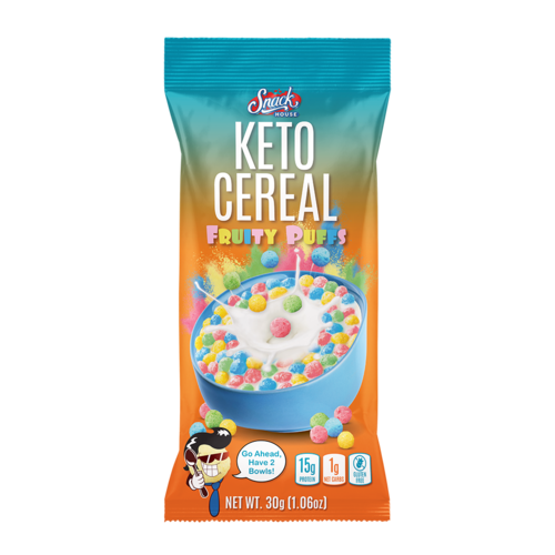 Snack House Foods Snack House Puffs Keto Cereal single serving