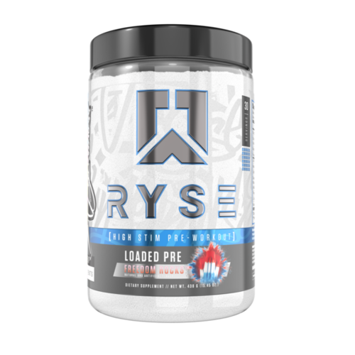 Ryse Supplements Ryse Loaded High-Stim Pre-Workout