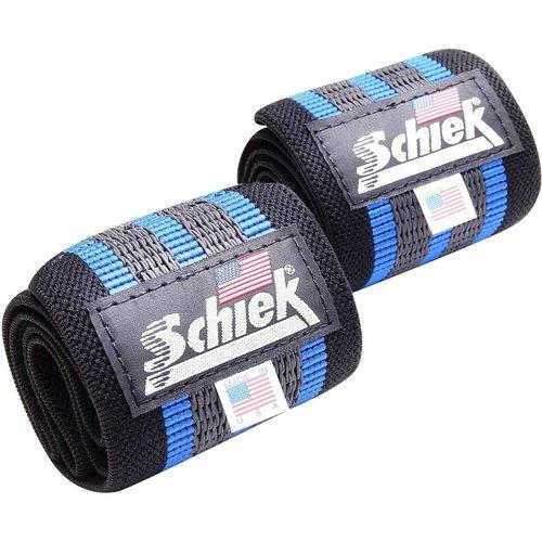 Schiek Schiek Blue Line Wrist Wraps