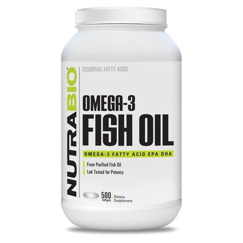 Nutrabio Nutrabio Omega 3 Fish Oil