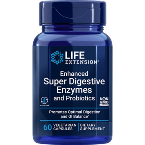 Life Extension Enhanced Super Digestive Enzymes and Probiotics