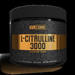5 Percent 5% Core L-Citrulline 3000