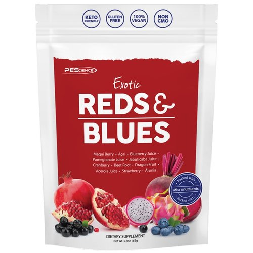 PES Exotic Reds & Blues