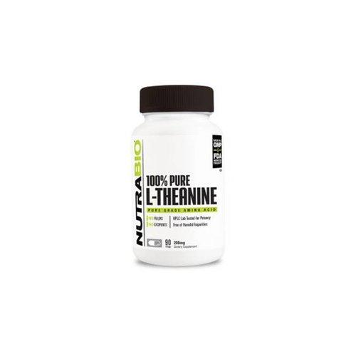 Nutrabio 100% Pure L Theanine