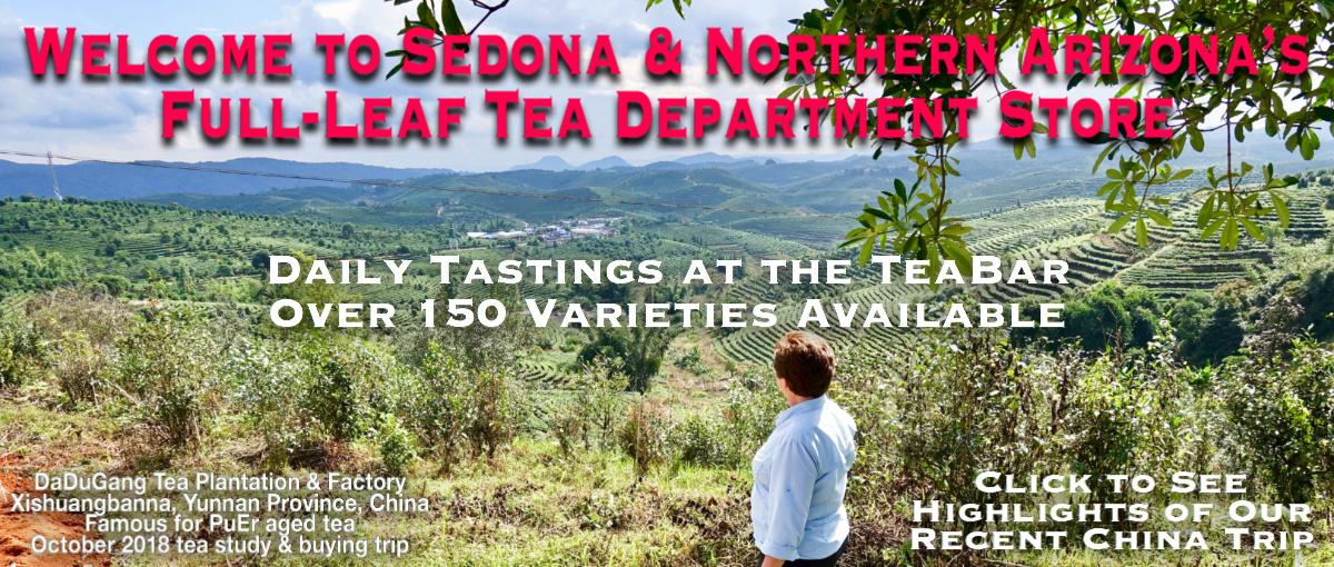 Trailhead Tea, Sedona & Northern Arizona's Tea Department Store banner 1