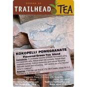 Tea from Japan Kokopelli Pomegranate Green from Trailhead Tea, Sedona Arizona's Full-Leaf Tea Department Store