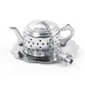 "Teaware Tea Egg ""Teapot"" with Drip Catcher"