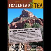 Tea from China MYSTIC TRAIL GREEN MINTY CITRUS from Trailhead Tea, Sedona Arizona's Full-Leaf Tea Department Store