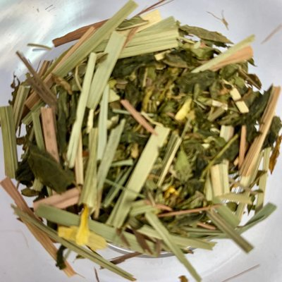 Tea from China Mystic Trail Green Minty Citrus