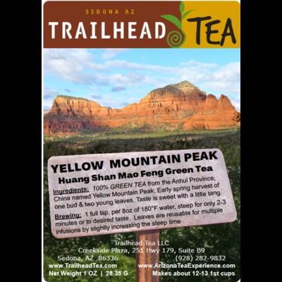 Tea from China Huang Shan Mao Feng, Yellow Mountain Peak