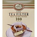 Teaware Paper Tea Filter -size small, box of 100 with stick