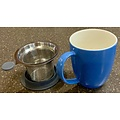 Teaware For Life Uni Brew-inMug w/Strainer, 16oz, Blue