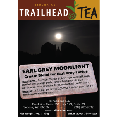 Tea from Sri Lanka Earl Grey Moonlight