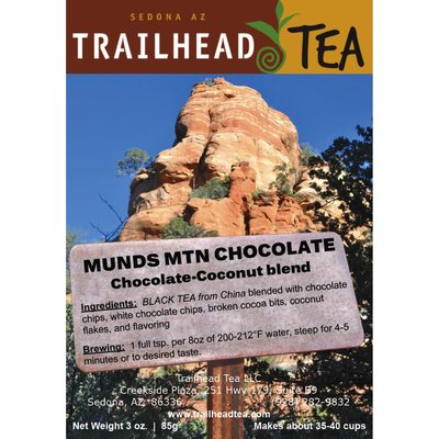 Tea from Sri Lanka Munds Mtn Chocolate