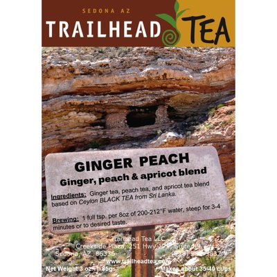 Tea from Sri Lanka Ginger Peach