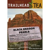 Tea from China BLACK DRAGON PEARLS from Trailhead Tea, Sedona Arizona's Full-Leaf Tea Department Store